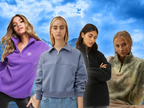 The quarter-zip 90s fleece is back – here is where to buy the best