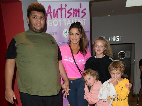 Katie Price forced to padlock fridge as she shares fears for son Harvey who tips scales at 28 stone: 'Every time I feed him, it's killing him'