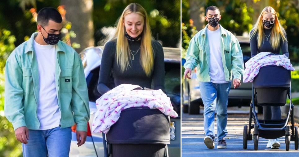Sophie Turner and Joe Jonas beam at baby Willa during cute family trip |  Metro News