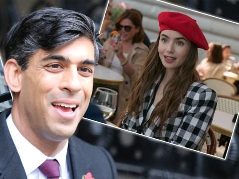 Rishi Sunak 'binges on Emily In Paris' during lockdown to 'switch off'