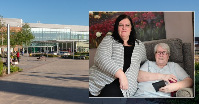 Vulnerable gran, 75, 'left in waiting room with Covid patients for three hours'