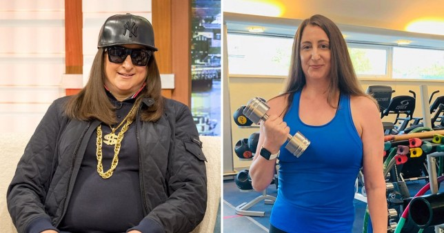 X Factor's Honey G shows off her fitness transformation