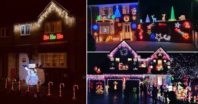 The Light Up Locally campaign was launched in late October (Picture: Facebook/Light up Locally)