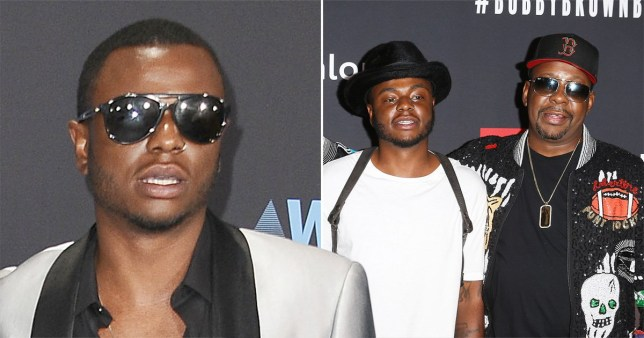 Bobby Brown and his son Bobby Brown Jr