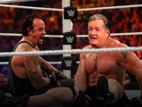 WWE legend Undertaker challenges Piers Morgan to wrestling match