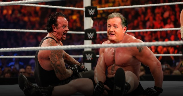 The Undertaker and Piers Morgan