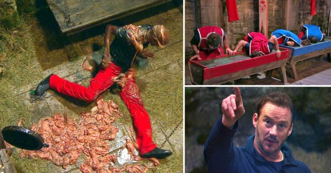 I'm A Celebrity: Sir Mo Farah covered in fish guts, the celebs taking part in live trial and Russell Watson in camp