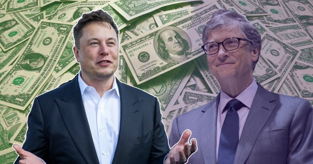 Elon Musk has overtaken Bill Gates as the second-richest person in the world after his wealth skyrockets with Tesla's stock price.