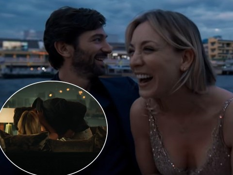Kaley Cuoco reveals The Flight Attendant co-star Michiel Huisman taught her how to 'have fake sex'