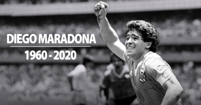 Diego Maradona passed away in Buenos Aires on Wednesday