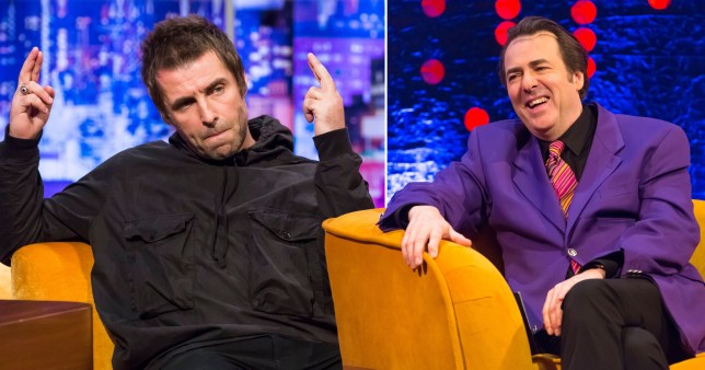 Liam Gallagher thinks Jonathan Ross is 70...