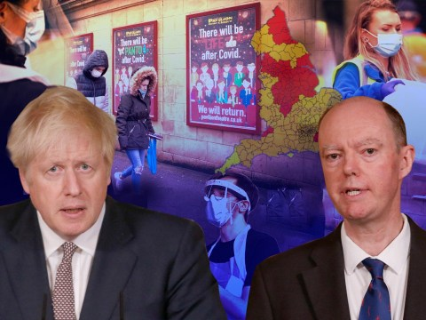 Chris Whitty slaps down Boris's suggestion areas might go down a tier