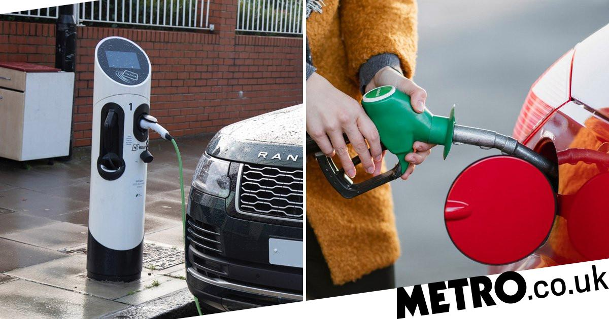 Electric cars need 50,000 miles before they're greener than petrol ones, report claims