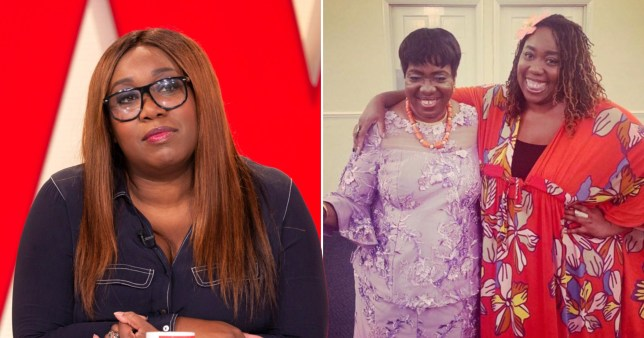 Chizzy Akudolu announces her mum has died