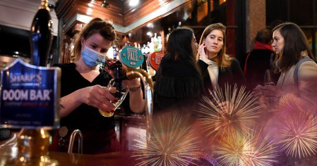 Brits warned they must follow Covid rules on New Year's Eve