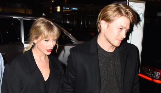 Taylor Swift and Joe Alwyn in New York City