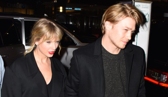 Taylor Swift and Joe Alwyn are seen at Zuma restaurant