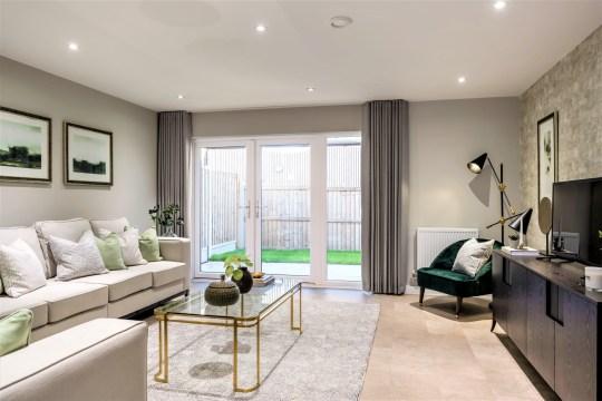 Beechwood Village, Basildon, Essex SS14, three-bed houses from £373,000