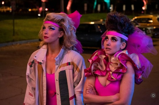Alison Brie and Betty Gilpin in Netflix's Glow