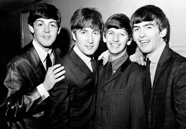The Beatles Sir Paul McCartney, John Lennon, Sir Ringo Starr and George Harrison