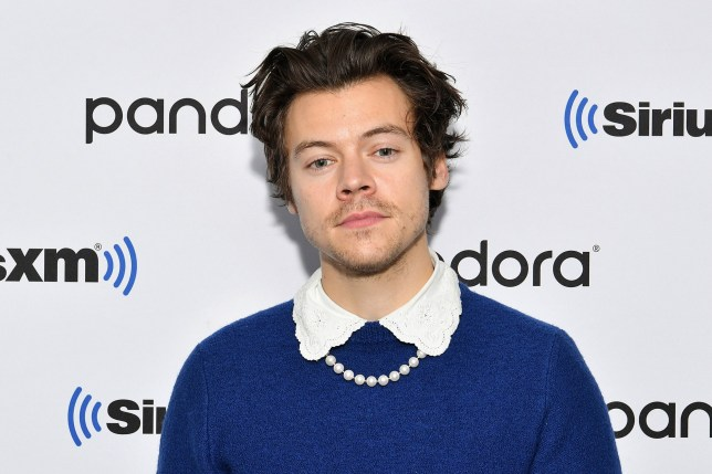 NEW YORK, NEW YORK - MARCH 02: (EXCLUSIVE COVERAGE) Harry Styles visits SiriusXM Studios on March 02, 2020 in New York City. (Photo by Dia Dipasupil/Getty Images)