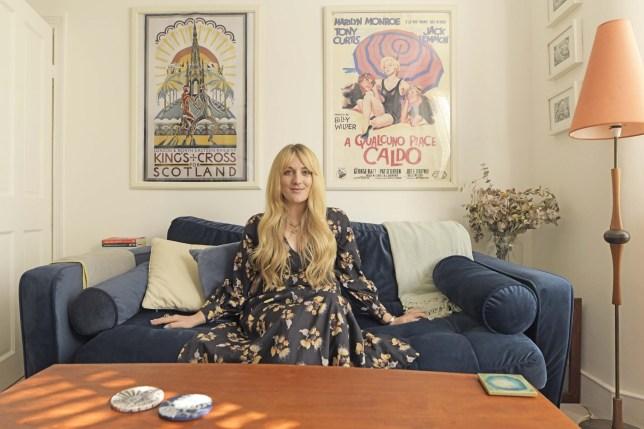 Metro Home : Lauren Bravo. Journalist & Author Lauren Bravo photographed at home in Leyton, East London.