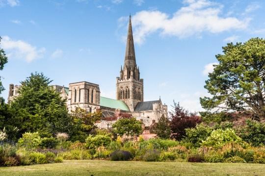 Bishop's Palace Gardens, Chichester