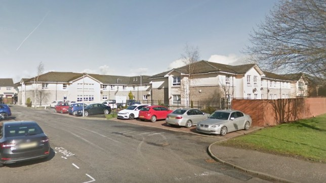 Caledonian Court care home in Larbert has been hit with a coronavirus outbreak.