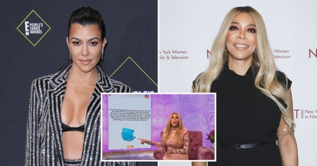 Wendy Williams slams Kourtney Kardashian for claiming Covid masks cause cancer and warns she?s ?trying to fool? fans