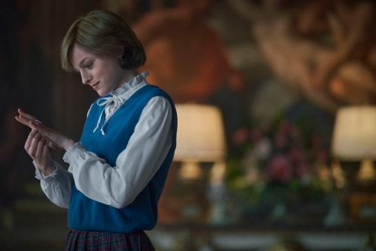 Emma Corrin as Diana