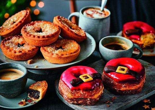 Marks & Spencer Santa's Yumnuts