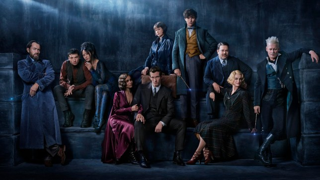 Fantastic Beasts: The Crimes of Grindelwald cast