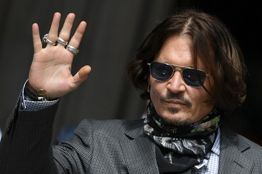 (FILES) In this file photo taken on July 23, 2020 US actor Johnny Depp arrives to attend his libel trial against News Group Newspapers (NGN), at the High Court in London. - Hollywood star Johnny Depp on Friday, November 6, confirmed he will appeal against a UK court ruling that upheld claims he was violent towards his ex-wife Amber Heard. (Photo by DANIEL LEAL-OLIVAS / AFP) (Photo by DANIEL LEAL-OLIVAS/AFP via Getty Images)