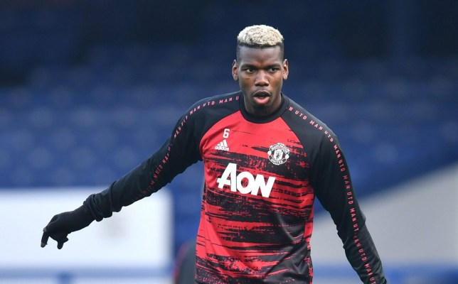 Paul Pogba was dropped from Manchester United's starting line-up for Saturday's match against Everton
