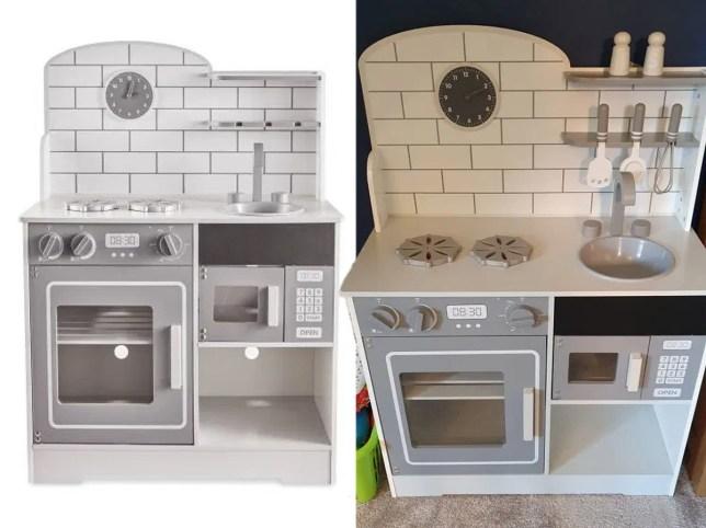 pictures of aldi's mini toy kitchen