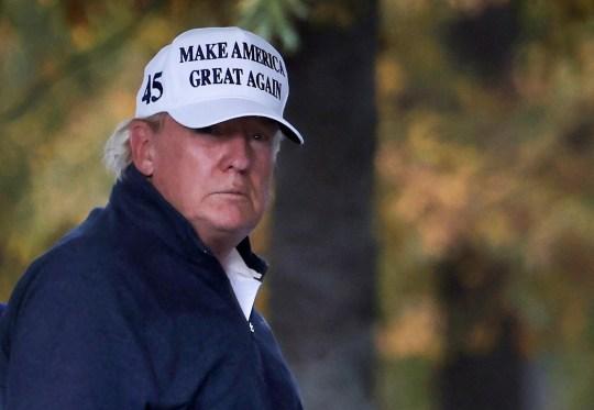 U.S President Donald Trump returns to the White House