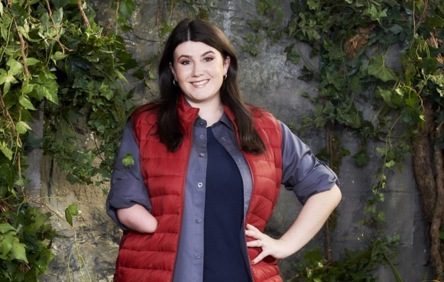Hollie Arnold on I'm A Celebrity
