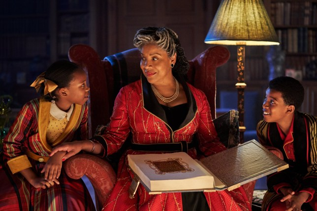 Phylicia Rashad as Grandmother in Jingle Jangle
