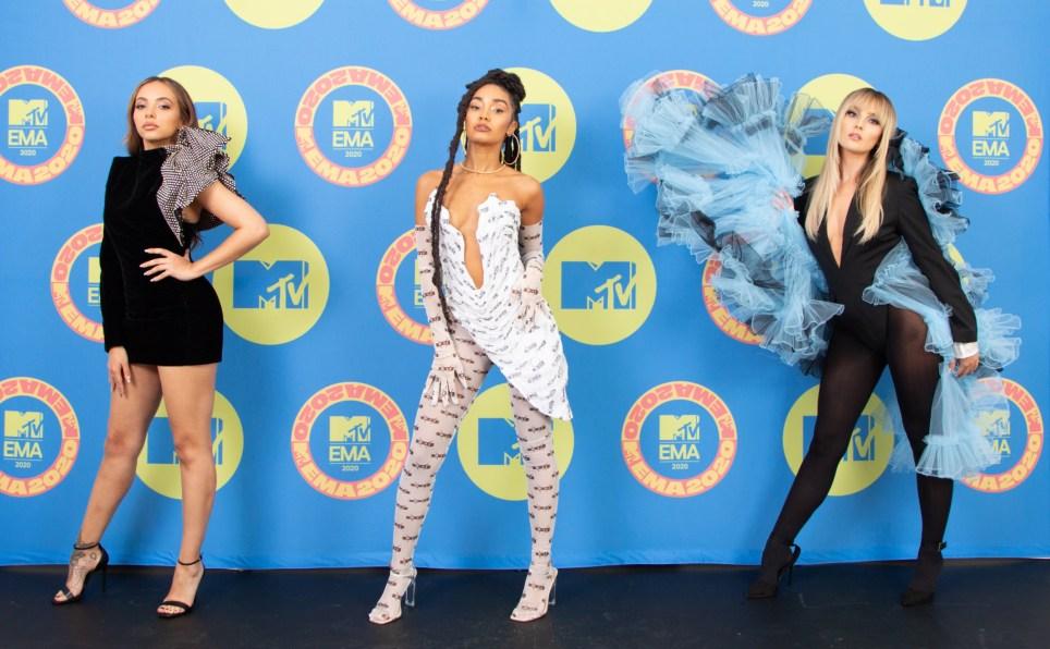 Little Mix on MTV EMAs 2020 red carpet