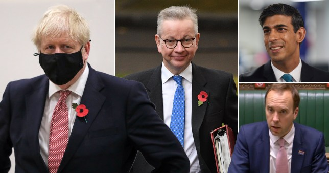 Boris Johnson sent sent security experst to top cabinet ministers' homes including Michel Gove and Matt Hanock in his crackdown on finding the mole who leaked the second national lockdown to the press.