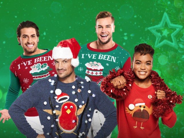 CELEBS LEND THEIR SUPPORT TO SAVE THE CHILDREN'S CHRISTMAS JUMPER DAY MIDNIGHT EMBARGO