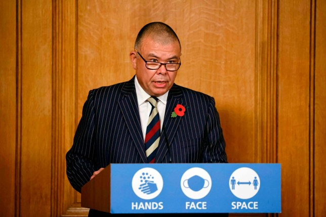 Britain's Deputy Chief Medical Officer for England Jonathan Van-Tam speaks during a virtual press conference