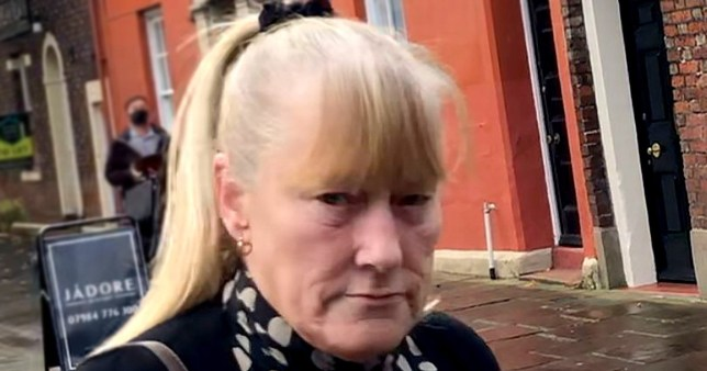 Carla Dawn Graham, 60, from Kendal, Cumbria, who was jailed for eight months for slapping a resident at Herron Hill care home around the face and force-feeding another with piping hot food