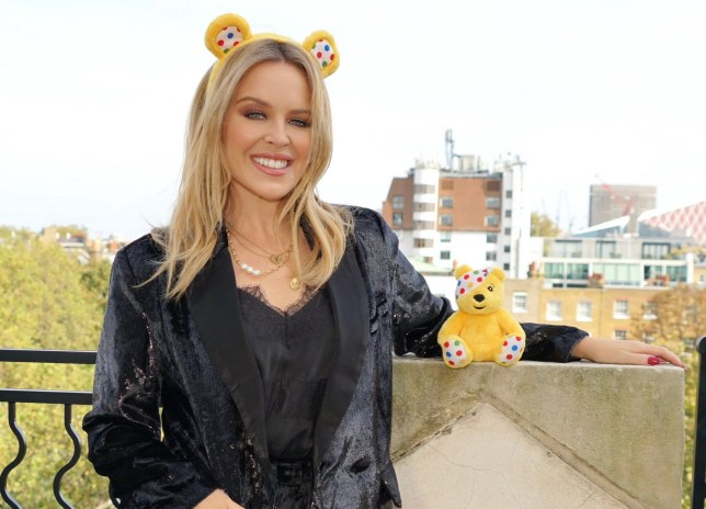 Kylie Minogue for BBC Children In Need