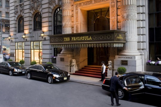 Hong Kong hotel ditches check in and check out times Peninsula Hotels