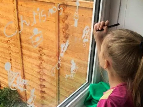Parents are loving these £1 chalk pens that can decorate windows and wipe off