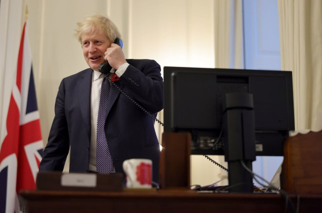 Boris Johnson speaks to president-elect of the United States .