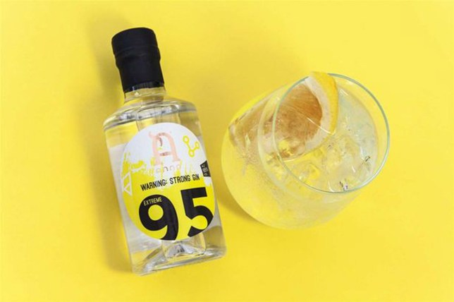 World's strongest gin released - with 95% abv