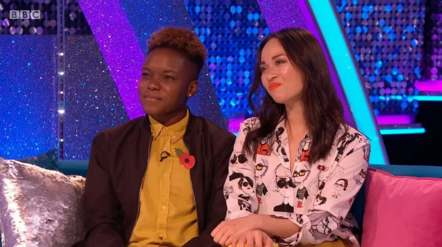 Nicola Adams and Katya Jones on Strictly - It Takes Two