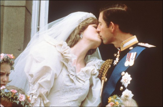 Charles and Diana get married